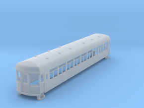 N gauge 55ft interurban coach arch roof in Smooth Fine Detail Plastic