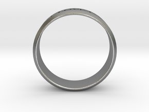 Ring Let Love Last Simple (size 6) in Natural Silver