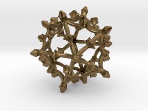 Fractal Cage  KZ82 in Natural Bronze