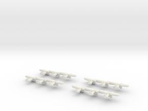 PZL P.11 (Triplet) 1/900 x4 in White Natural Versatile Plastic
