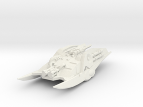 Heavy Cylon Raider 1/525 in White Strong & Flexible