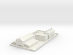 1/700 Farm (Complete Set) in White Natural Versatile Plastic