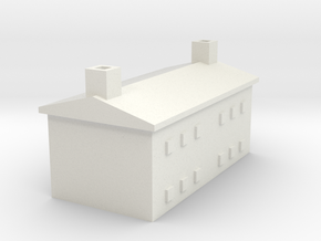 1/700 Farm House 1 in White Natural Versatile Plastic
