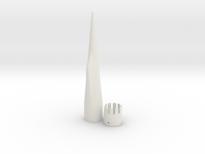 NC-55 (Upscale PNC-50SP) in White Natural Versatile Plastic
