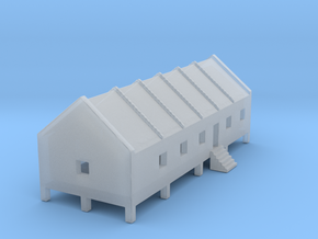 1/700 Prison Camp Building 1 in Smooth Fine Detail Plastic