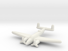 Lockheed PV-1 Ventura 1/900 in White Natural Versatile Plastic