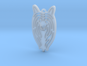 Cute pet pendant. in Smooth Fine Detail Plastic