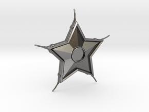 Smallville Starro Device Replica Prop in Polished Nickel Steel