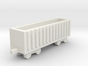 1/700 Coal And Mineral Wagon in White Natural Versatile Plastic