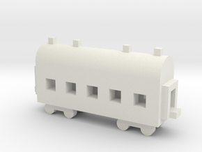1/700 Passenger Carriage in White Strong & Flexible
