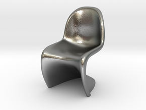 Panton Chair Scale 1/10 (10%) in Natural Silver