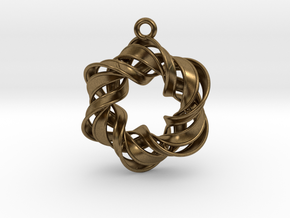 The Six Pointed Star in Natural Bronze