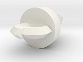 Core Drill from Tengen Toppen Gurren Lagann in White Natural Versatile Plastic