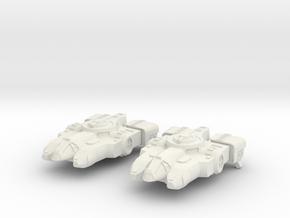 Tahae Tiriti Light Freighter 2x in White Natural Versatile Plastic