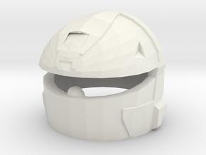 MJOLNIR VI(A) Rogue Helmet in White Natural Versatile Plastic
