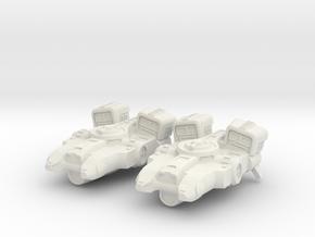 Tahae Tiriti Bounty Hunter X2 in White Natural Versatile Plastic