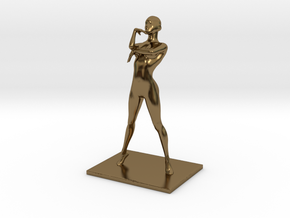Coco Rocha Pose 325 in Polished Bronze
