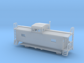 Monon Caboose - HOscale in Frosted Ultra Detail