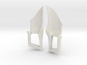 Trohn Fighter Thruster in White Strong & Flexible