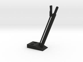 quarter scale aec handbrake lever in Black Strong & Flexible
