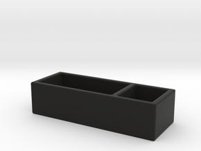 Desk Box in Black Natural Versatile Plastic