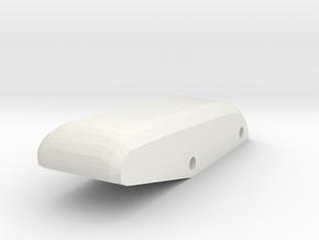 Roof Scoop / Window Latch Handle V2 in White Natural Versatile Plastic