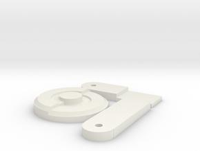 Hs7u651d27kuphrovbpoivtkn5 46245166.stl in White Natural Versatile Plastic