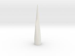 NC-80 (Upscale PNC-50SP) NO Shoulder in White Natural Versatile Plastic