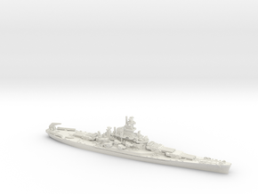 1/1800 US BB Alabama[1942] in White Natural Versatile Plastic