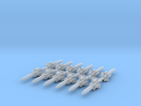 1/700 C-101 (FL-2) Eagle Strike Missile (x12) in Smooth Fine Detail Plastic