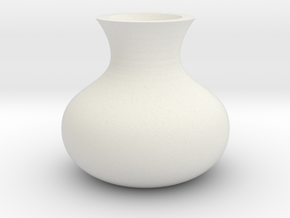 (FLEXTEST) Wilt vase, for those who forget to wate in White Strong & Flexible