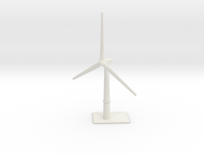 1/700 Wind Farm (x1 Turbine) in White Natural Versatile Plastic