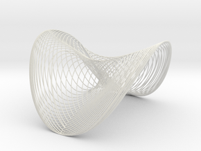 Woven Wobble - flextest in White Natural Versatile Plastic
