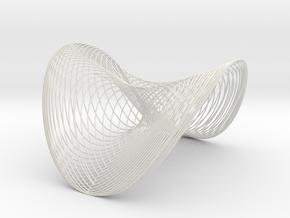Woven Wobble - flextest in White Strong & Flexible