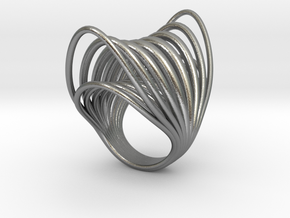 Ring 003 in Natural Silver