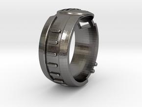Visor Ring 8 in Polished Nickel Steel