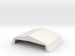 1/350 Bessonneau Hangar 3 in White Natural Versatile Plastic