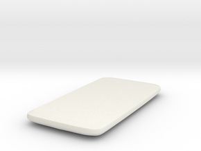 Real Model of HTC ONEx in White Natural Versatile Plastic