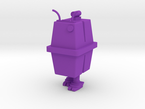 1/48 O Scale Box Robot 2 in Purple Processed Versatile Plastic