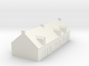 1/350 Village House 1 in White Strong & Flexible