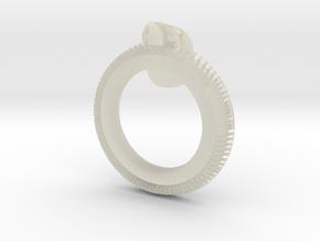 Skull Napkin Ring in Transparent Acrylic