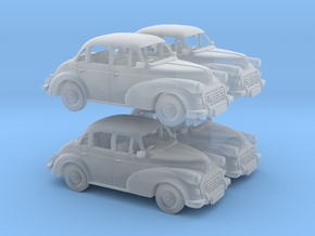 4 Morris Minors 1:120 in Smooth Fine Detail Plastic