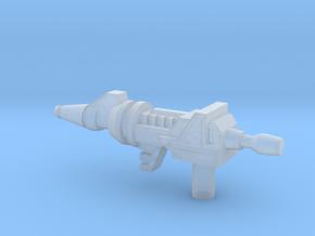 Space Spy Gun (3mm Handle) in Smooth Fine Detail Plastic