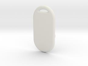 GTA04_back_cover_v1.0 in White Natural Versatile Plastic