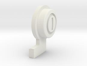 GTA04_btn_pwr_v1.0 in White Natural Versatile Plastic