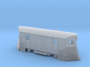 Schmalspur-Schneepflug Spur H0m (1:87) in Smooth Fine Detail Plastic
