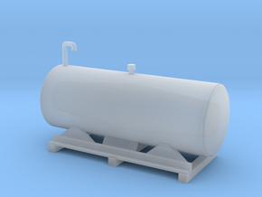 fuel tanks for flat car in Frosted Ultra Detail