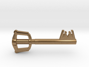 Keyblade in Natural Brass