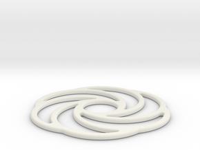 Squaring the Torus Geometry in White Natural Versatile Plastic