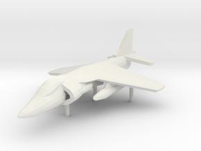 Harrier AV-8B in White Strong & Flexible